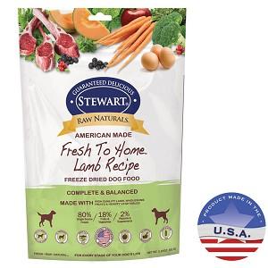 Raw Naturals Freeze Dried Dog Food Lamb 325 Oz